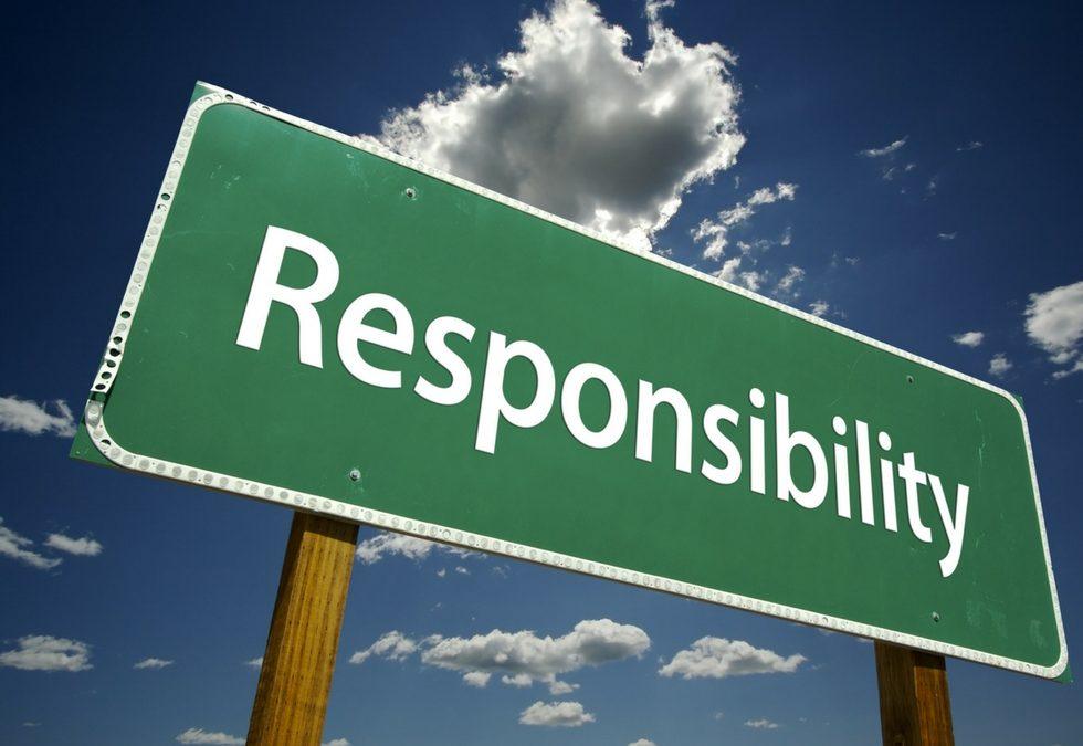 I 4 step della Responsabilità per fare la differenza.