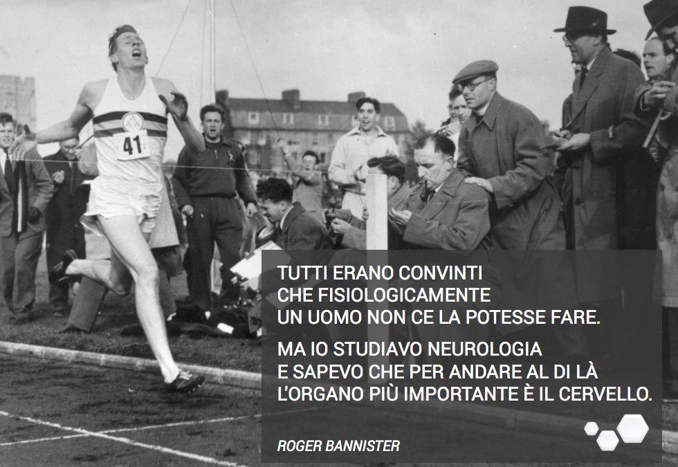 La storia di Roger Bannister.