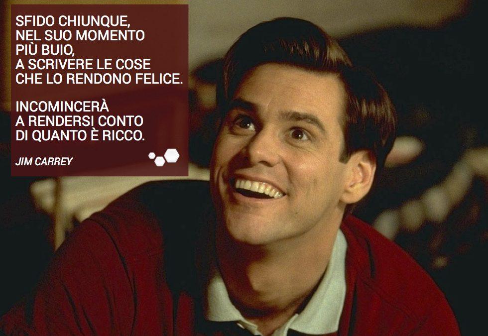 La storia di Jim Carrey.