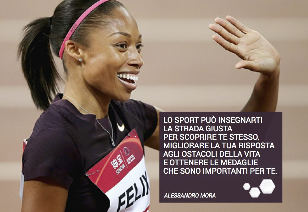 Lo sport come terapia alla scoperta di se stessi.