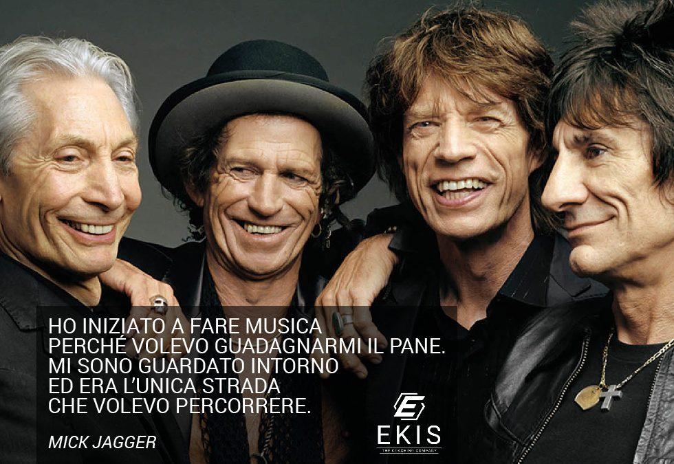 Rolling Stones: la passione è un cuore pulsante.